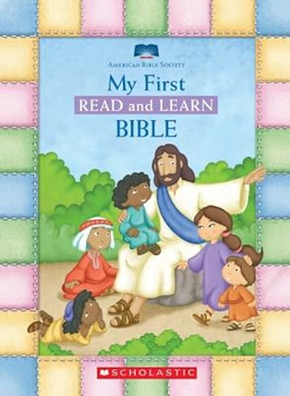 American Bible Society - My First Read and Learn Bible, Hardcover -