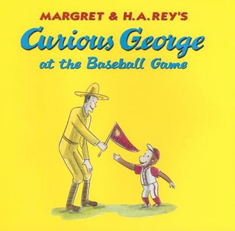 H. A. Rey - Curious George at the Baseball Game, Hardcover -