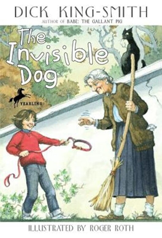 Dick King-Smith - The Invisible Dog, Paperback -