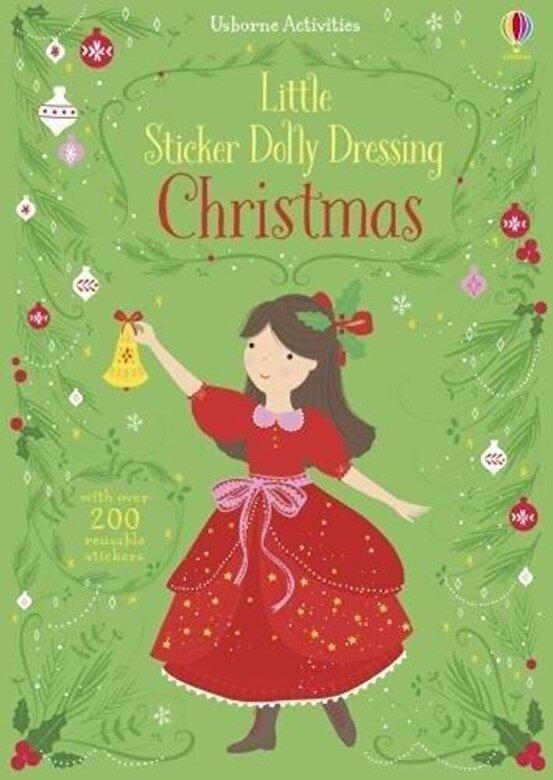 Fiona Watt - Little Sticker Dolly Dressing Christmas, Paperback -