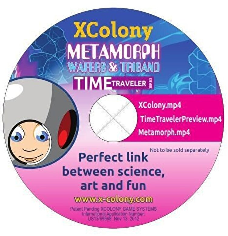 XColony - Joc Metamorph + DVD -