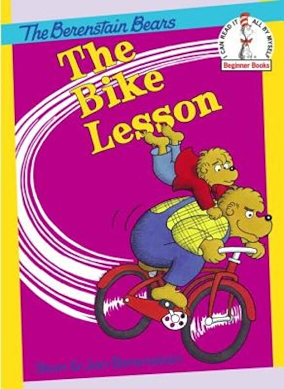 Stan Berenstain - The Bike Lesson, Hardcover -