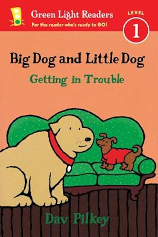 Dav Pilkey - Big Dog and Little Dog Getting in Trouble, Hardcover -