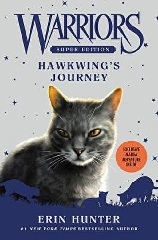 Erin Hunter - Warriors Super Edition: Hawkwing's Journey, Paperback -