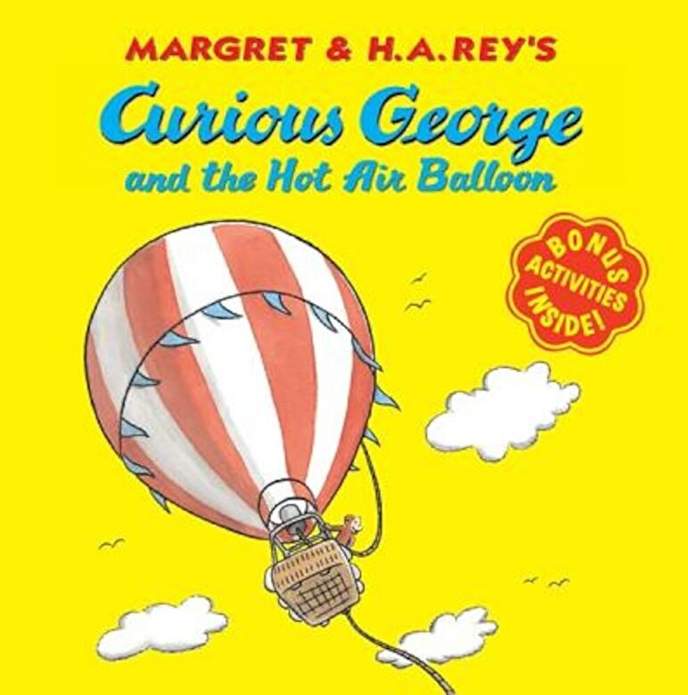 Margret Rey - Curious George and the Hot Air Balloon, Paperback -