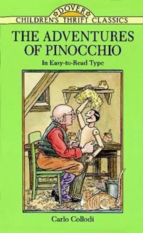 Carlo Collodi - The Adventures of Pinocchio, Paperback -