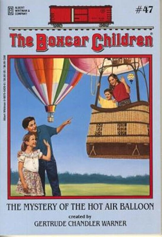 Gertrude Chandler Warner - The Mystery of the Hot Air Balloon, Paperback -