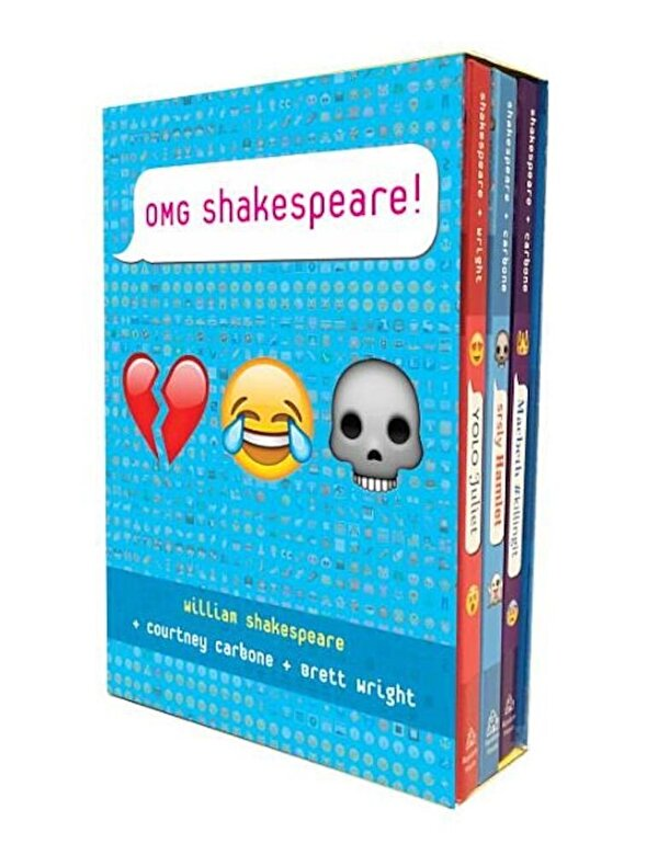 Various - Omg Shakespeare Boxed Set, Hardcover -