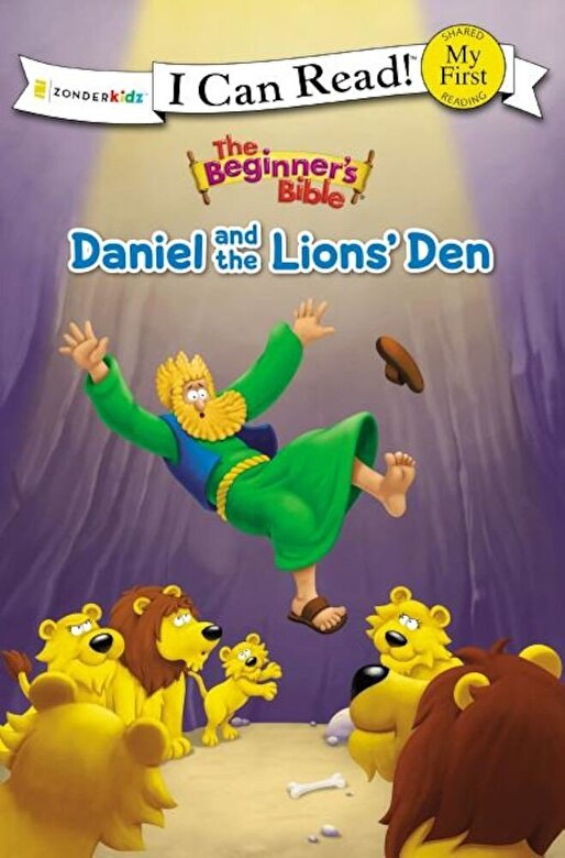 Zondervan - The Beginner's Bible Daniel and the Lions' Den, Paperback -