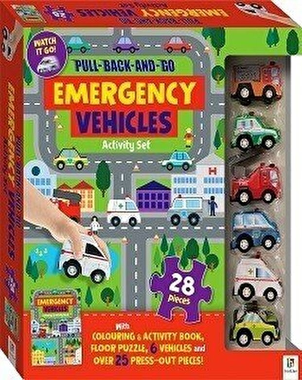*** - Pull-back-and-go: Emergency Floor Puzzle -