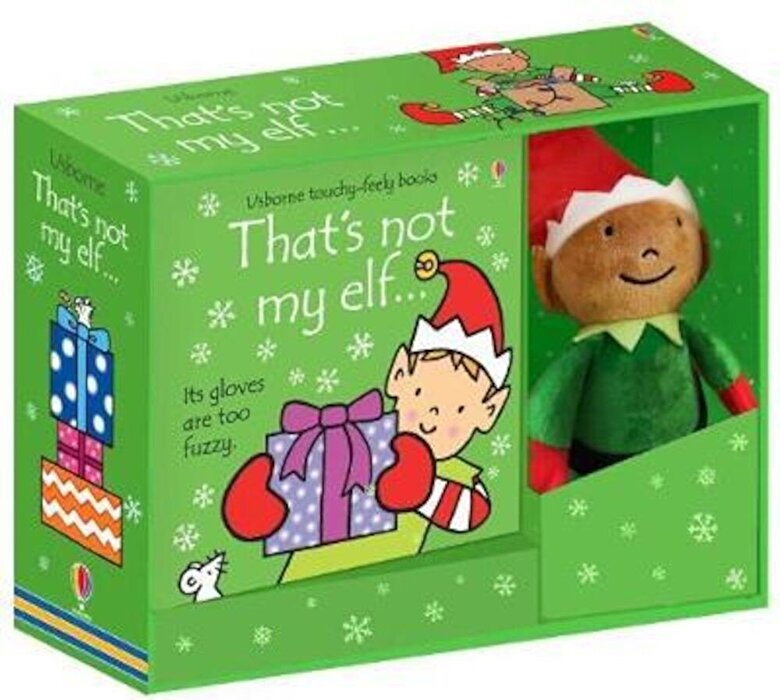 Fiona Watt - That's not my elf... Book and Toy, Paperback -