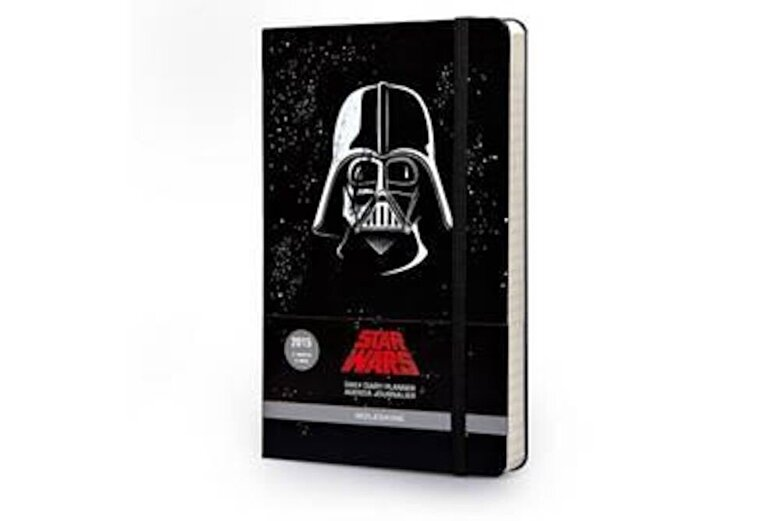 Moleskine - Moleskine 2015 Star Wars Limited Edition Daily Planner, 12 Month, Large, Black, Hard Cover (5 X 8.25) -