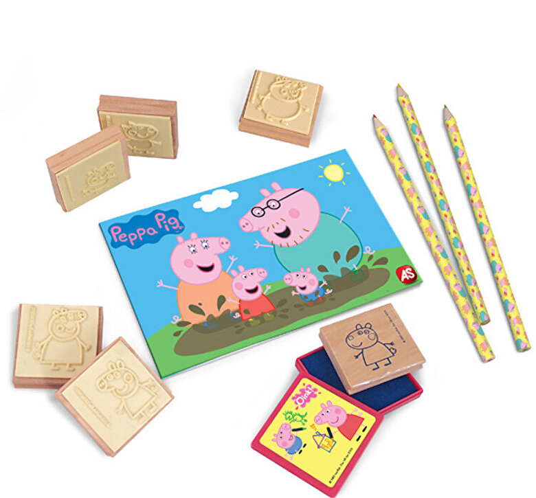 Art Greco - Set stampile Stampers - Peppa Pig -