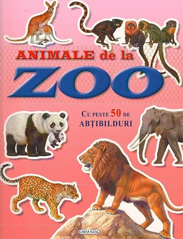 *** - Cauta si lipeste - Animale de la zoo -