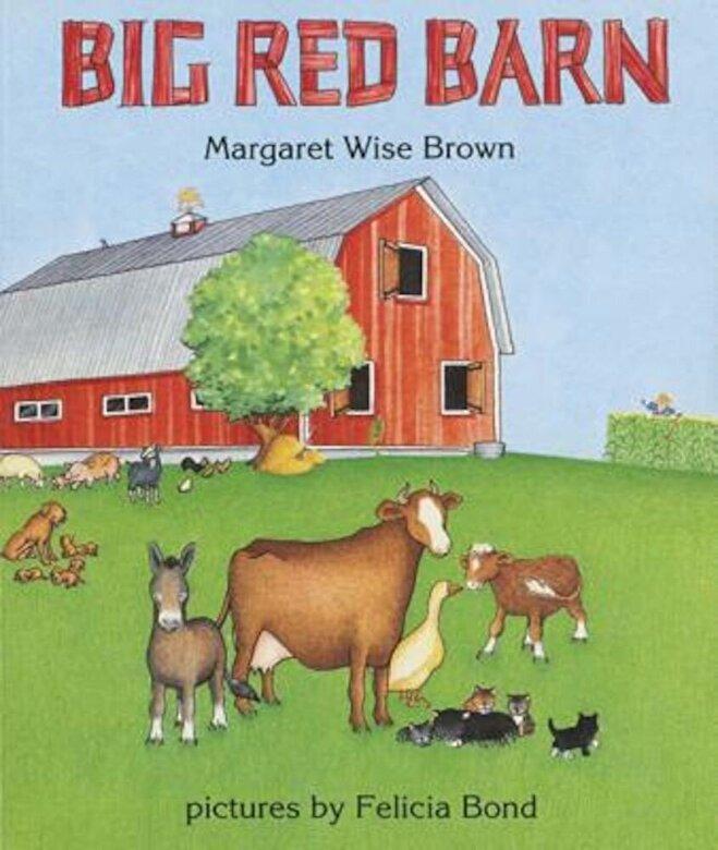Margaret Wise Brown - Big Red Barn Board Book, Hardcover -