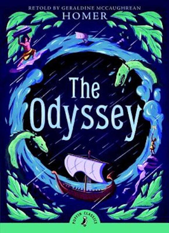 Homer - The Odyssey, Paperback -