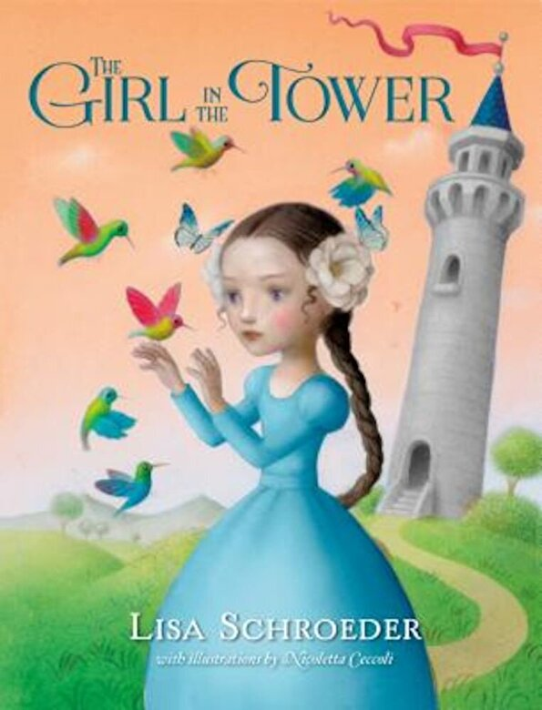 Lisa Schroeder - The Girl in the Tower, Paperback -