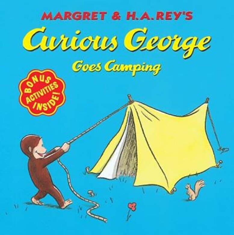 H. A. Rey - Curious George Goes Camping, Paperback -