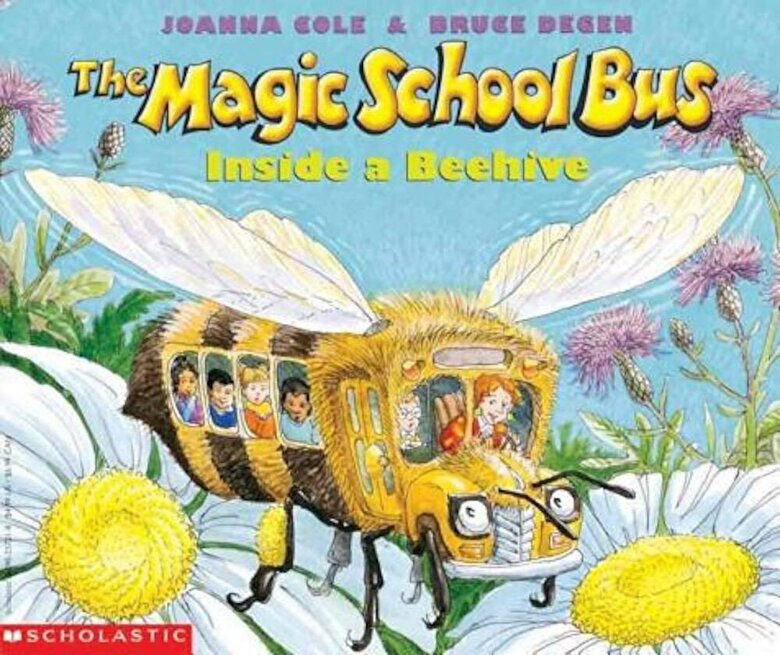 Joanna Cole - The Magic School Bus Inside a Beehive, Paperback -