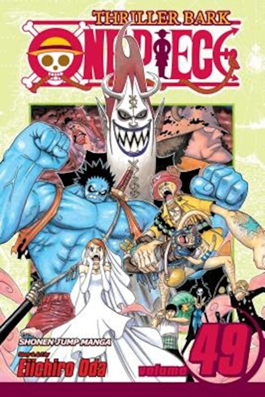 Eiichiro Oda - One Piece, Volume 49: Thriller Bark, Part 4, Paperback -
