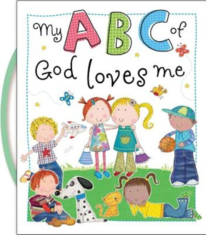 Thomas Nelson - My ABC of God Loves Me, Hardcover -