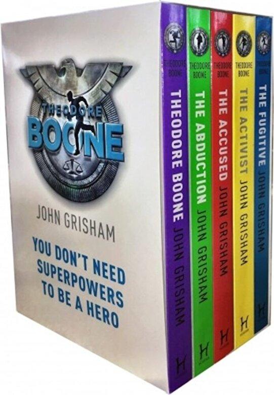 John Grisham - Theodore Boone Series Collection 5 Books Box Set -