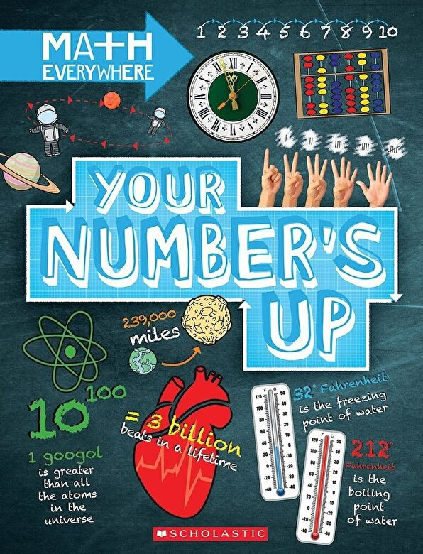 Rob Colson - Your Number's Up: Digits, Number Lines, Negative and Positive Numbers, Hardcover -