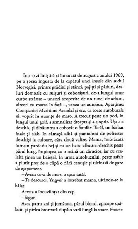 Karl Ove Knausgard - Lupta mea. Cartea a treia: Insula copilariei -
