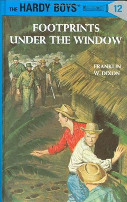 Franklin W. Dixon - Hardy Boys 12: Footprints Under the Window, Hardcover -