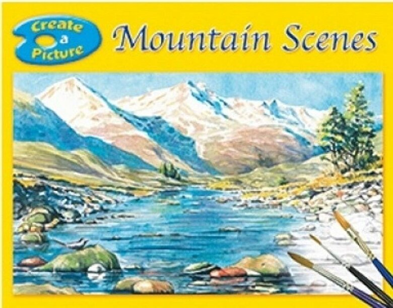 *** - Brown Watson Create a Picture Book - Mountain Scenes -