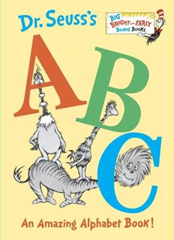 Seuss - Dr. Seuss's ABC: An Amazing Alphabet Book!, Hardcover -