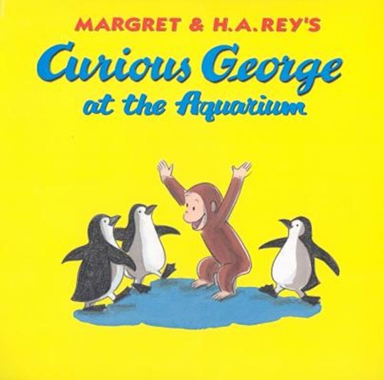 H. A. Rey - Curious George at the Aquarium, Hardcover -