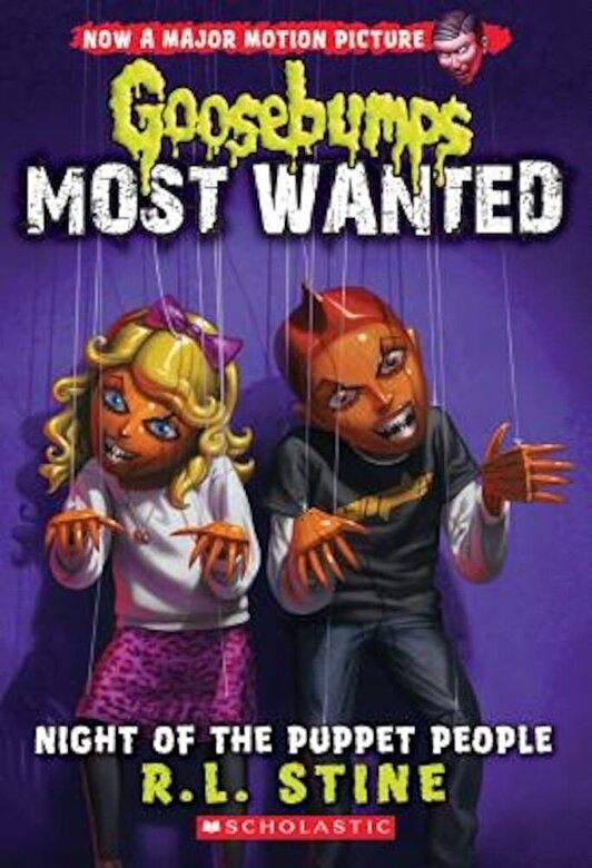 R. L. Stine - Night of the Puppet People (Goosebumps Most Wanted #8), Paperback -