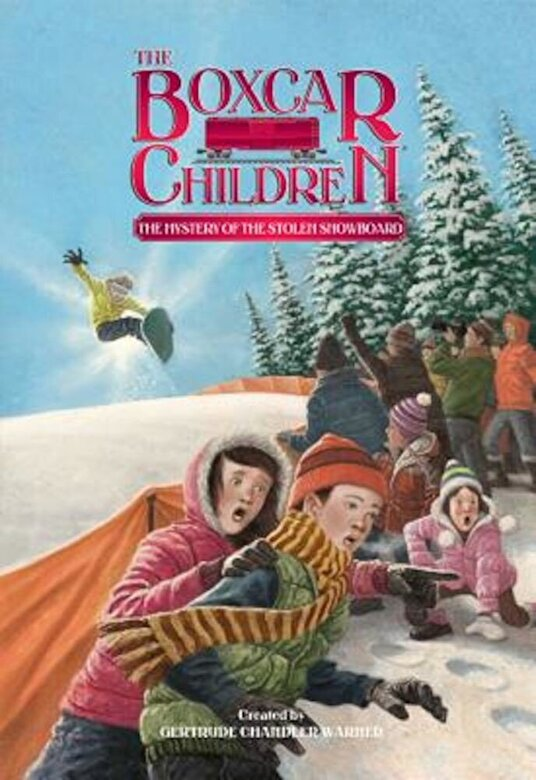 Gertrude Chandler Warner - The Mystery of the Stolen Snowboard, Paperback -