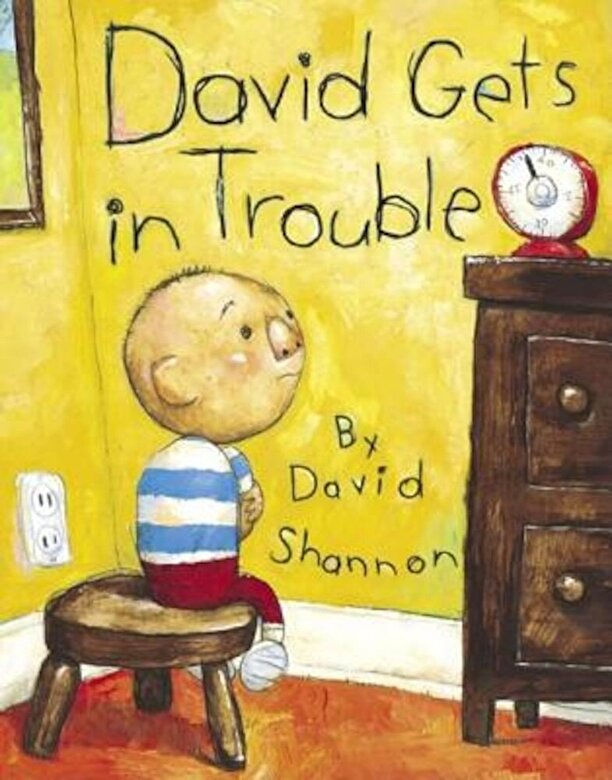 David Shannon - David Gets in Trouble, Hardcover -