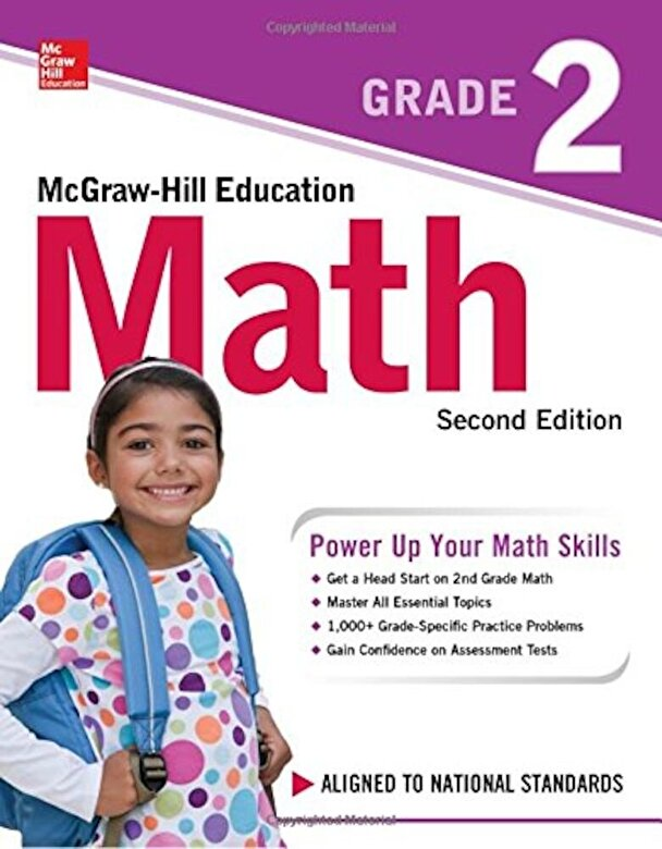 McGraw-Hill Education - McGraw-Hill Education Math Grade 2, Second Edition, Paperback -