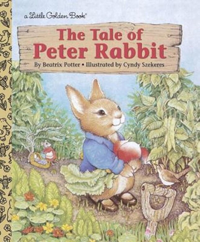 Beatrix Potter - The Tale of Peter Rabbit, Hardcover -