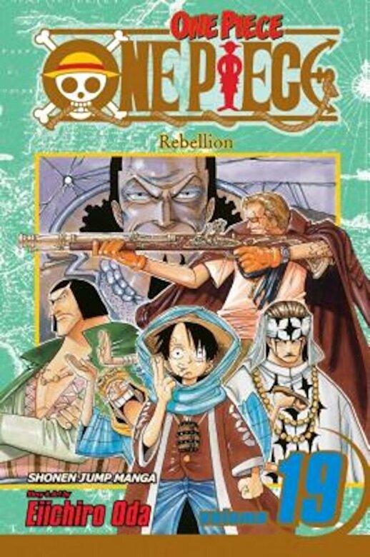 Eiichiro Oda - One Piece, Volume 19: Rebellion [With Bonus Sticker], Paperback -