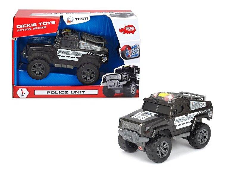 Dickie Toys - Action Series - Masina de Politie motorizata -