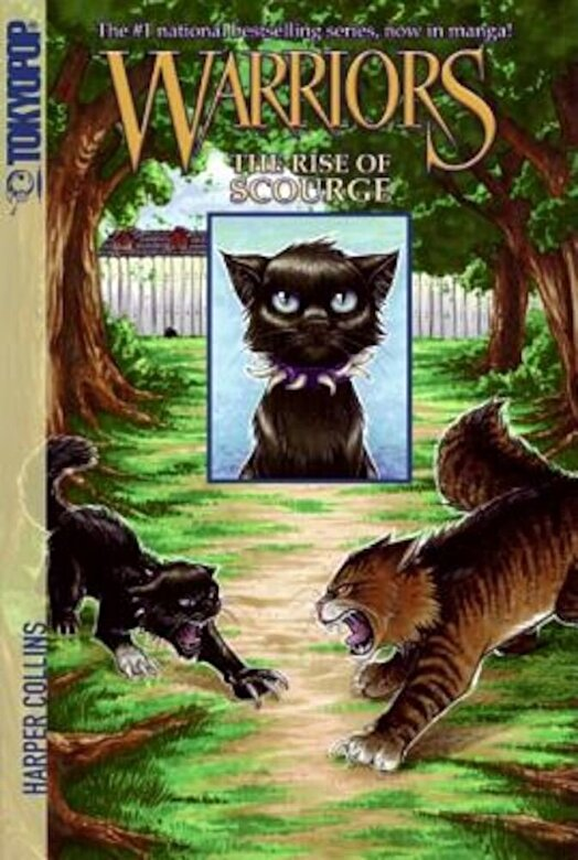 Erin Hunter - Warriors: The Rise of Scourge, Paperback -