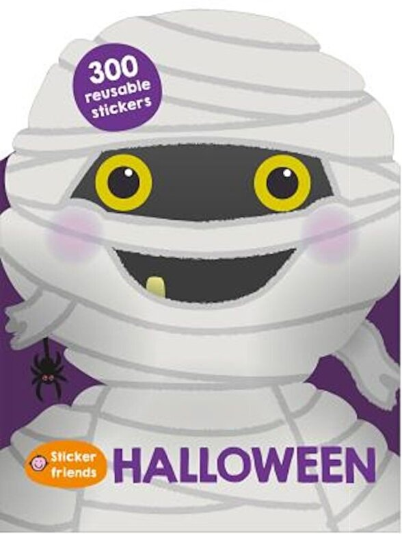 Roger Priddy - Sticker Friends: Halloween: 300 Reusable Stickers, Paperback -