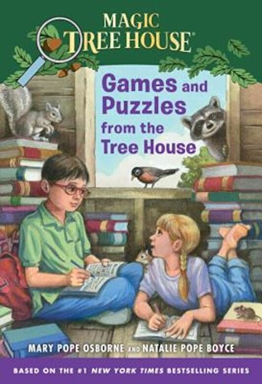 Mary Pope Osborne - Games and Puzzles from the Tree House: Over 200 Challenges!, Paperback -