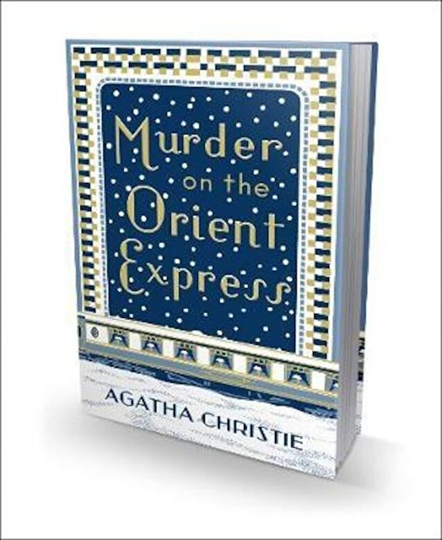 Agatha Christie - Murder on the Orient Express, Hardcover -
