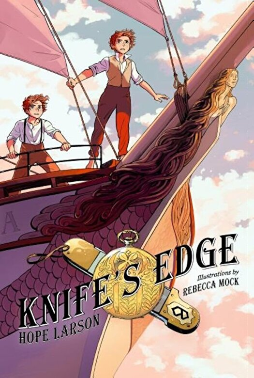 Hope Larson - Knife's Edge: A Graphic Novel, Paperback -