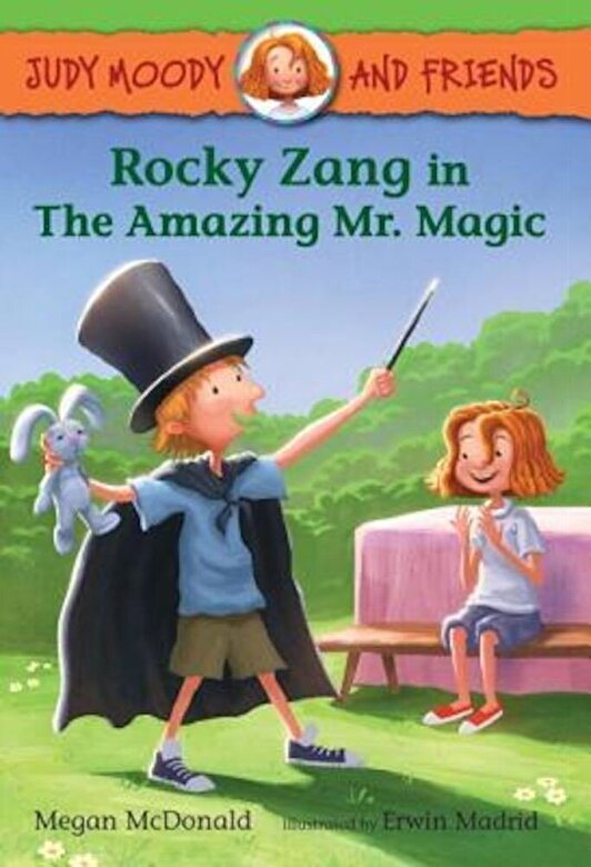 Megan McDonald - Rocky Zang in the Amazing Mr. Magic, Hardcover -