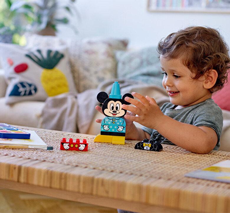 LEGO - LEGO DUPLO - Disney, Prima mea constructie Mickey 10898 -