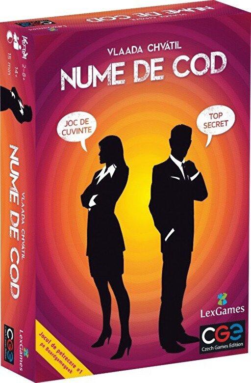 Lex Games - Joc Nume de Cod - limba romana -