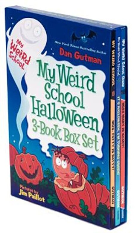 Dan Gutman - My Weird School Halloween 3-Book Box Set, Paperback -