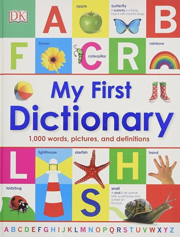 DK Publishing - My First Dictionary, Hardcover -