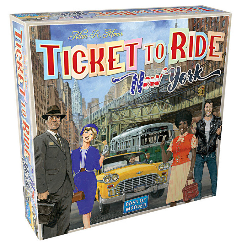 Days of Wonder - Joc Ticket to Ride New York - limba romana -